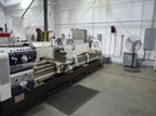 EMC pump shop lathe